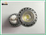 Projecteur témoin GU10 LED 85-265VAC avec éclairage LED pour remplacement halogène de 25W 50W