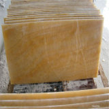 Preço amarelo Polished do mármore de Onyx do mel para a telha