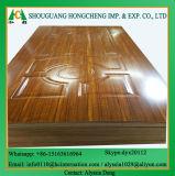Hölzerne Furnier-Blatt MDF-Tür-Haut von der Linyi-Fabrik