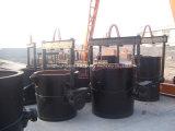 Poche en métal fondu utilisée dans le bâti de CPE de mousse détruit par vide