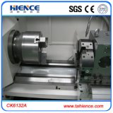 Máquina barata do torno do CNC de Ck6132A mini com controlador de Fanuc