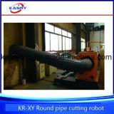 Tagliatrice per il taglio di metalli del plasma di CNC del tubo d'acciaio del segno di precisione