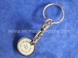 Iron personnalisé Euro Shopping Trolley Coins Token avec Magnet