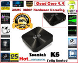 Neuestes Quad Core Smart Set Top Box mit Amlogics802 und Kodi14.1, Support Full HD 1080P und Dual Band WiFi (2.4/5.8GHz) Android Fernsehapparat Box