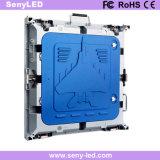 Panel de publicidad de video de interior / exterior Panel de LED electrónico con gabinete de fundición para alquiler