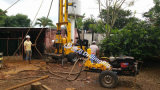 De Installatie van de diesel Boring van de Exploratie in Harde Rots voor de Minerale Exploratie van het Ijzer