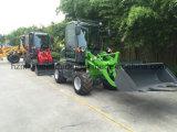 Carregador novo de Priduction do mini carregador Rated de madeira da máquina 800kg do equipamento agrícola mini