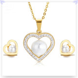 De Reeksen van de Juwelen van het Roestvrij staal van de Juwelen van de Manier van de Juwelen van de parel (JS0196)