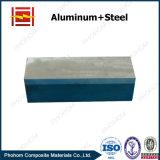 電気分解アルミニウムのためのアルミニウム鋼鉄爆発溶接のブロック