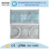 Lustiges Gesichts-chirurgische Schablonen-nicht gesponnene Gesichtsmaske-zahnmedizinische Wegwerfgesichtsmaske