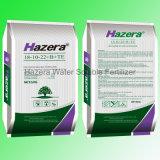 Fertilizzante solubile in acqua caldo di vendita 18-10-22 NPK con EDTA-Cu, tecnico di assistenza, manganese, Zn, B