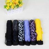 Paraguas barato promocional del regalo de 3 dobleces de la fábrica pequeño