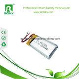 Batería 402030 3.7V 200mAh del polímero del litio con el PWB y el alambre