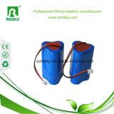 3s1p 18650 het Li-IonenPak van de Batterij 11.1V 3400mAh met Lader