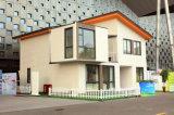 Casa modular del envase del panel de emparedado/casa económica