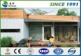 강철 구조물 임명에 의하여 콘테이너 사무실 조립식 집은 단식한다