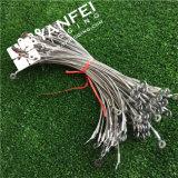 Conetor revestido da corda de fio de aço do PVC