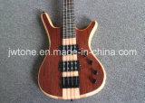 Block Abalone Inlay W Neck Through Body Basses Guitare