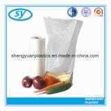 Neuester HDPE/LDPE umweltfreundlicher flacher Plastiknahrungsmittelbeutel