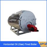 Gas-ölbefeuerte gesamte machten rückseitigen Gas-Zentralheizung-Dampfkessel naß