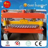 Hky PLCの自動屋根ふきの圧延ラインは機械を形作る鋼鉄壁のクラッディングシートロールを着色した