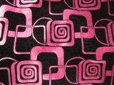 Poliestere Printing Burnout Super Soft Fabric per Sofa