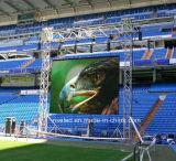 Il nuovo disegno P5.95 grazioso esterno dell'interno parete di alluminio del Governo 500X500mmrgb LED della pressofusione della video