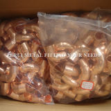 Gomito del rame di pollice di 1/2 per gas medico
