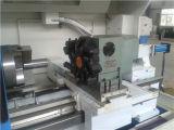 Handboek die om metaal te snijden CNC de Machine van de Draaibank inpassen