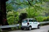 4車輪CVTの自動電気自動車(KD 5010)