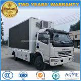 トラックを広告するDongfeng 6の車輪の高品質屋外LED
