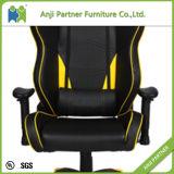 الصين أصفر سوداء حديث [بو] قمار كرسي تثبيت مع متّكأ ([مر])