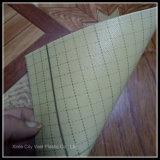 Plancher de PVC avec le support d'éponge