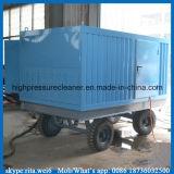 Reinigingsmachine van de Straal van het Water van de Hoge druk van de Pijp van de Buis van de condensator de Schonere
