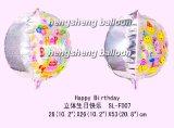 Воздушный шар фольги лазера