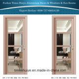 Дверь нутряного украшения алюминиевая с славным цветом и по-разному картинами