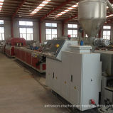Ligne machine d'extrusion de Decking de WPC