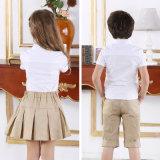 Fantastische Entwurfs-Schuluniform-weiße Hemden u. Kakipflaumenbaum-Hosen für Kinder