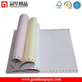 Papel de computadora continuo de la ISO hecho del papel sin carbono