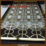 Metal del diseño de la manera que talla el tabique del acero inoxidable (SJ-015)