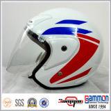 "capacete aberto da motocicleta/velomotor/""trotinette"" da face do profissional (OP207)"