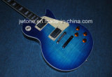 Guitarra eléctrica estándar superior arqueada arce flameada de Les Lp de la carrocería