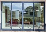 Portas de vidro isoladas Tempered Soundproof da isolação térmica