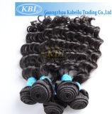 Trame de cheveux humain brésilienne brisée double (KBL-BH)