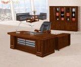 L Formdunkler Brown-Farben-Büro-Tisch-Büro-Möbel (HY-8718)