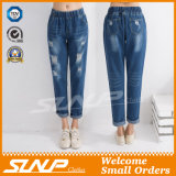 Manier Strench Stratch van de straat &Ripped Vrouwen Lang Jean Trousers