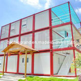 Casa del envase de la estructura de acero/casa prefabricada del envase