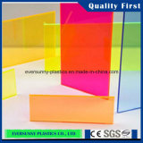 Protection UV Transparent Clear e Colored Acrylic Sheet