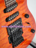 Guitare électrique avec le dessus piqué d'érable (Afanti AFEG200)