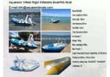Aqualand 14feet 4.2m Rigid Inflatable Fishing Boat/Rib Motor Boat (RIB420B)